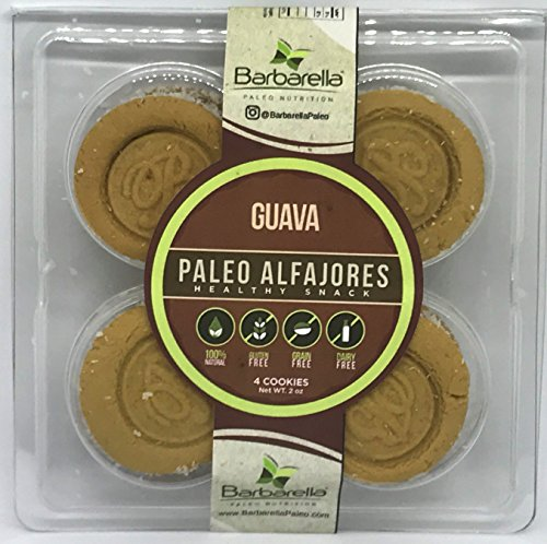- Paleo Guava Alfajores, 4 Cookies (Pack of 4). 16 Alfajores in total