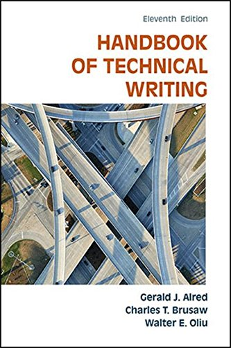 The Handbook of Technical Writing by Bedford/St. Martin's