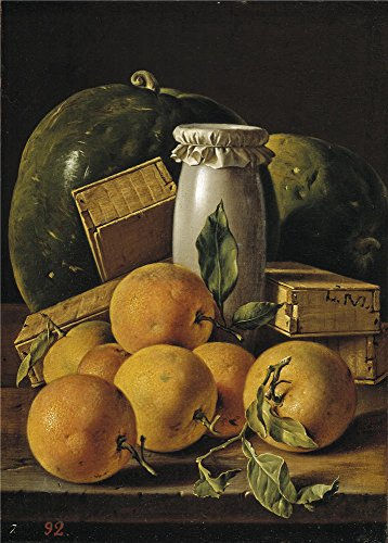 Penguin Belted Belt (The Polyster Canvas Of Oil Painting 'Melendez Luis Egidio Bodegon Con Naranjas Sandias Melero Y Cajas De Dulces Ca. 1760 ' ,size: 20 X 28 Inch / 51 X 71)