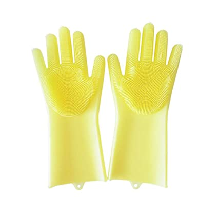 new style get new great fit Amazon.com: Gloves, Kitchen Cleaning Waterproof Gloves ...