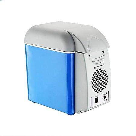 Finelyty Mini Refrigerador, 12V 7.5L Congelador Eléctrico Más Frío ...