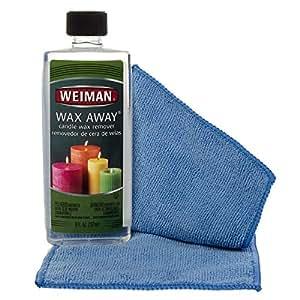 Amazon Com Weiman 8 Ounce Wax Away Candle Wax Remover