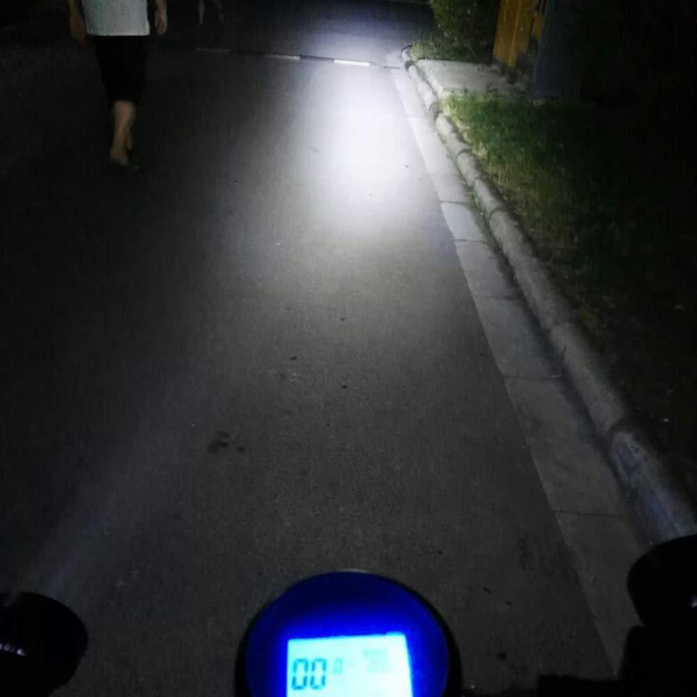 longyitrade 1 Paire de phares de r/étroviseur de Moto universels 12 V 4 LED