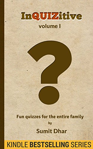 Trivia Quiz & Pub Quiz Book: InQUIZitive (Volume I)