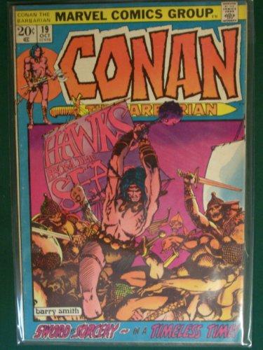 "Conan the Barbarian #19 (""Hawks from the Sea, Vol 1)"