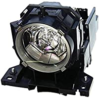 Electrified CPWX625LAMP DT-00873 Replacement Lamp with Housing for Hitachi Projectors