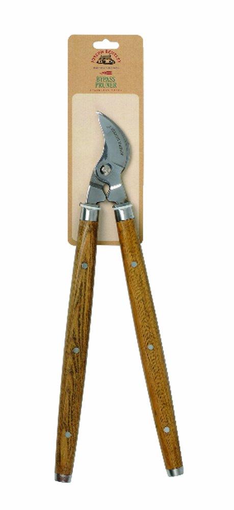 Joseph Bentley Traditional Garden Tools Stainless Steel 2-Handed Pruner, 19-Inch