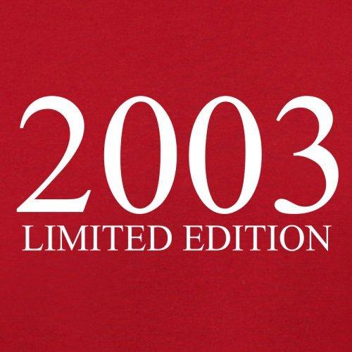 2003 Limierte Auflage / Limited Edition - 14. Geburtstag - Herren T-Shirt - Rot - S