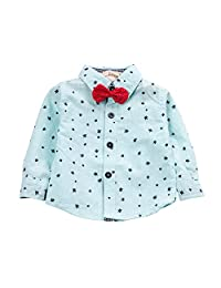 Evelin LEE Baby Boys Dot Button Down Casual Dress Shirt Outfits Clothes
