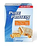 Pure Protein Bars, Gluten Free, Snack Bar, Maple Caramel, 50 gram, 6 Count