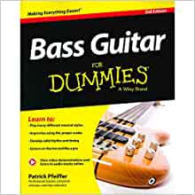 bass guitar for dummies book online video audio instruction for dummies series patrick. Black Bedroom Furniture Sets. Home Design Ideas