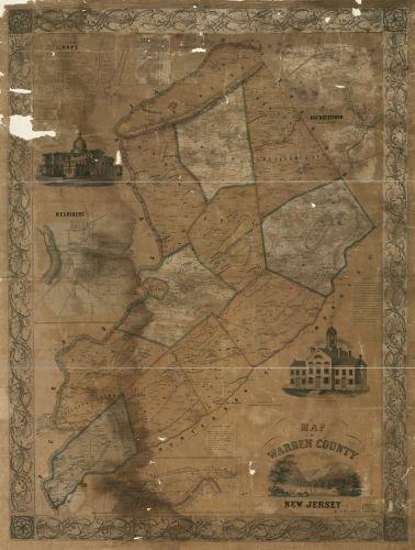 Map of Warren County, New Jersey Belvidere|Hackettstown|Hope|New Jersey|Phillipsburg|Warren County|Belvidere|Hackettstown|Hope|New Jersey|Phillipsburg|Warren County|Belvidere|Belvidere (N.J.)|Hacketts