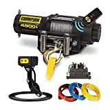 Champion Power Equipment 14560 Wireless Remote Power Winch Kit - 4500 lb. Capacity
