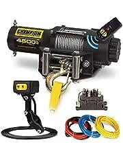 Champion Power Equipment 14560 Wireless Remote Power Winch Kit - 4500 lb. Capacity