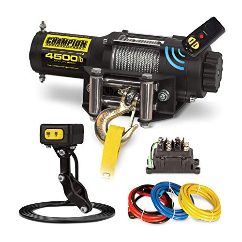 Champion 4500-lb. ATV/UTV Wireless Winch ()