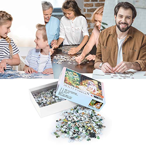 Peradix Jigsaw Puzzles 1000 Piece Wood Puzzle For Adults /Kids Children- Wooden Puzzle for Adult Reduced Pressure Toy Gift - Education Toys Gift