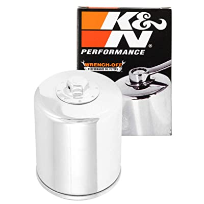 K&N Motorcycle Oil Filter: High Performance, Premium, Designed to be used with Synthetic or Conventional Oils: Fits Select Harley Davidson Motorcycles, KN-174C: Automotive