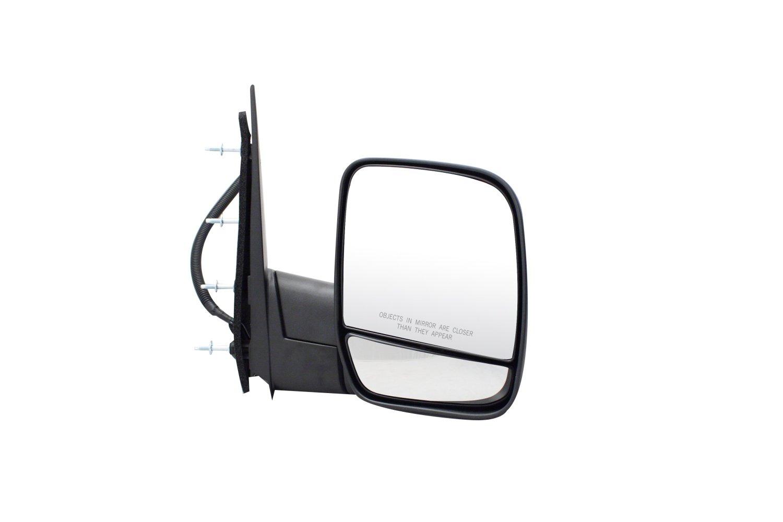Pilot FD7519410-8R00 Ford Econoline Van Black Power Non Heated Replacement Passenger Side Mirror