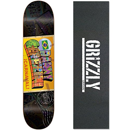BLIND Skateboard Deck DANNY CEREZINI POSTCARD 7.6 GRIZZLY White