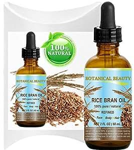 Amazon.com : RICE BRAN OIL. 100% Pure / Natural / Refined