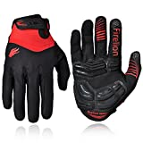 xxl cycling gloves - Firelion Long Finger Outdoor MTB Downhill Off Road Bicycle Gloves (Black, XX-Large)