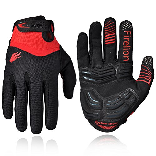 Firelion Long Finger Outdoor MTB Downhill Off Road Bicycle Gloves