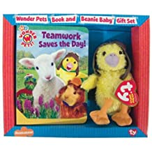 Teamwork Saves the Day!: Book and Beanie Baby Gift Set