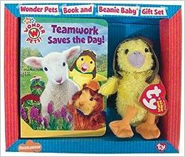 1eb9ec9e881 Teamwork Saves the Day!  Book and Beanie Baby Gift Set (Wonder ...