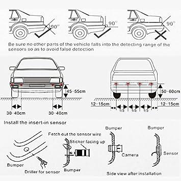 Hengda Sensore di parcheggio per retromarcia IP67