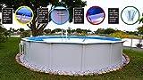 Bali SPAGP1804 Royal Aboveground Swimming Pool Package, Large White