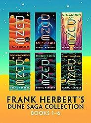 Frank Herbert's Dune Saga Collection: Books 1 - 6 (English Edit