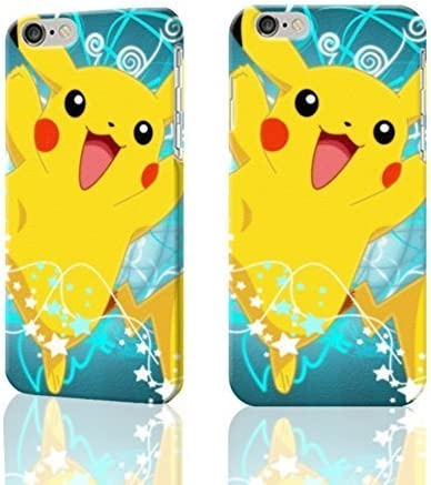 Cute And Lovely Pikachu Wallpaper 3d Rough Iphone 6 4 7 Inches Case Skin Fashion Design Image