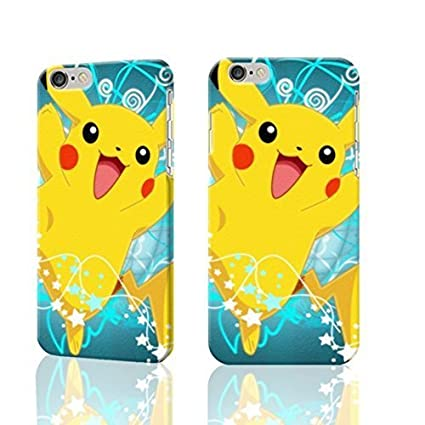 Cute And Lovely Pikachu Wallpaper 3D Rough Iphone 6 47 Inches Case Skin Fashion