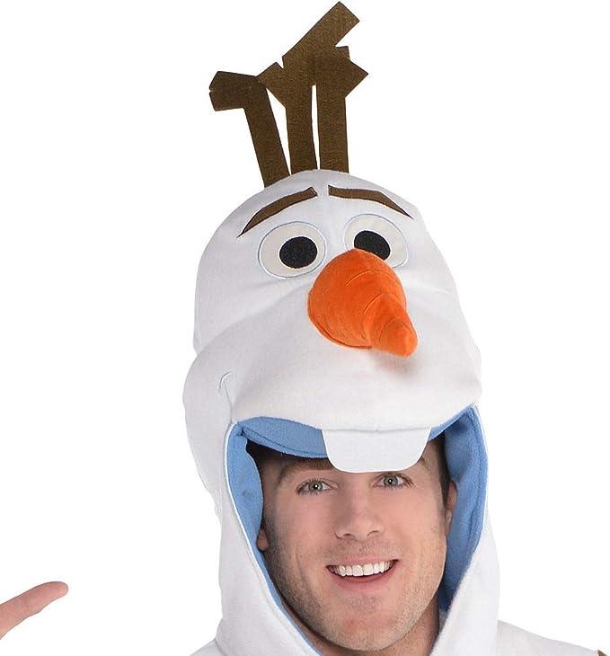 Disfraz de Olaf de Frozen Zipster de una Sola Pieza para Adultos ...
