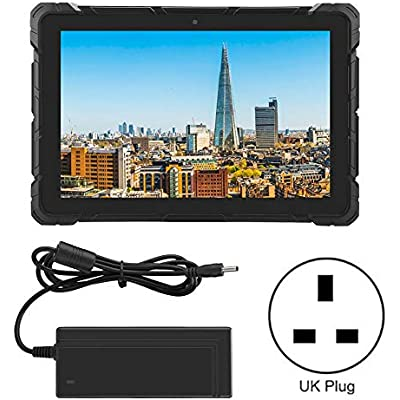 Garsent 10 1inch Android Industrial Tablet  Intel Z8350-RK3399 Outdoor Business Win10 System Tablet 64GB SSD  6GB RAM for Enterprise Mobile Field Work UK