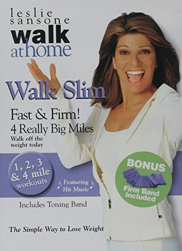 Leslie Sansone Walk Slim: Fast and Firm 4 Really Big Miles