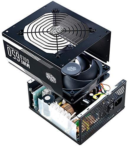 Cooler Master MWE Gold 650 W 80+ Gold Certified Fully Modular ATX Power Supply