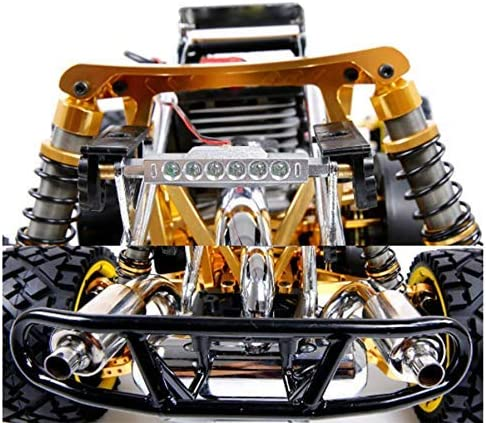 QSs-Ⓡ RC oil racing 1//5 high off-road high-power racing drift high-speed racing toy model with adult fuel remote control yellow