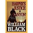 Harper's Justice in Canyon (A Classic Western Novel) (U.S. Marshal series Book 1)