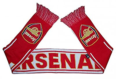 Arsenal FC Woven Winter Scarf (Red/White/Yellow)