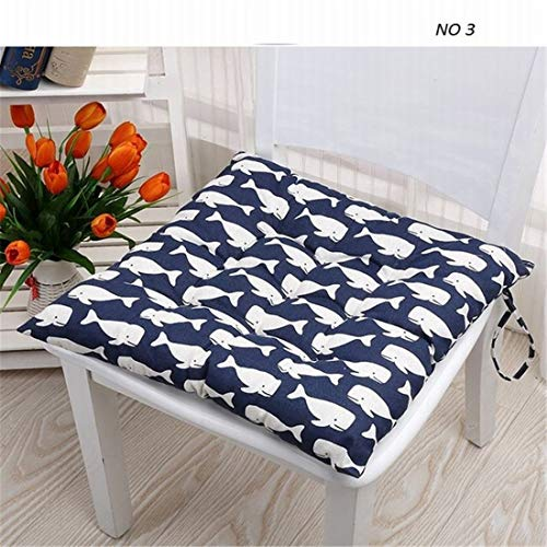 - JONARO 1 pcs Pastoral Floral Cartoon Printed Modern Linen Bubble Pad Kitchen Office Chair Cushions Dining Floor Seat Cushion Mat 40x40cm