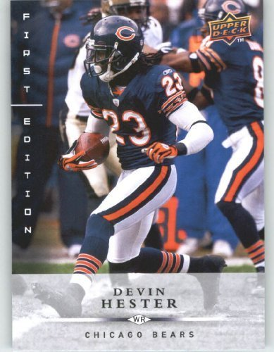 Devin Hester Nfl (Devin Hester - Chicago Bears - 2008 Upper Deck First Edition Football Card # 27 - NFL Football Trading Cards)