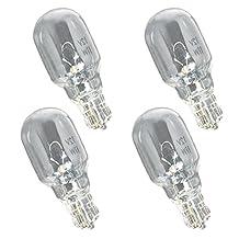 Paradise GL22608 Low Voltage 18-Watt Incandescent T5 Wedge base bulbs for landscape lighting, 12-Volt, clear (4-PACK)