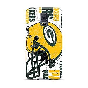 Anti-Scratch Hard Phone Case For Samsung Galaxy S5 With Unique Design Attractive Green Bay Packers Pictures RandileeStewart