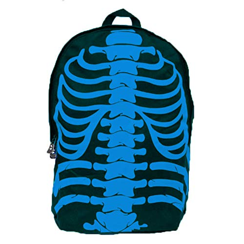 Halloween Activities For School Agers (SCHOLMART Skeleton Backpack Daypack School Teenager Halloween Party)