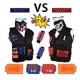 [2 Pack 2019 Newest] DoitY Kids Tactical Vest Kit for Nerf Guns N-Strike