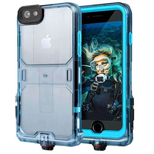 Generic iPhone 6s Waterproof Case iPhone 6 Case Sports Carrying Armband Gym Wrist Bag Military Standard Dry Case Dustproof Shockproof Slim Protective Case Compatible for iPhone 6s Case