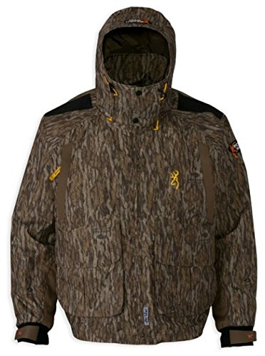 Browning Wicked Wing Timber Wader Jacket Mossy Oak Bottomlands, Large