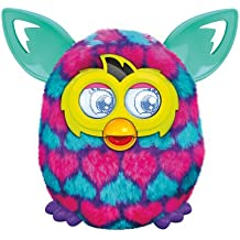 Furby Pink and Blue Hearts Boom Plush Toy