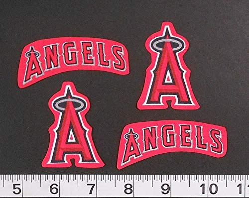 Los Angeles LA Angels MLB Team Iron On Sew Embroided Sticker Insignia Shirt Logo Badge -